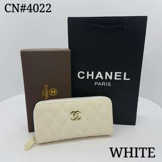 Chanel Wallet White Color