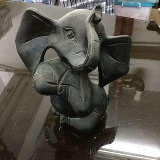 木雕- 大象