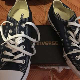 💯 Original Converse Low Cut Converse (USED ONLY ONCE)