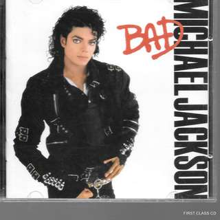 MY PRELOVED CD -MICHAEL JACKSON - BAD  /FREE DELIVERY (F7L))