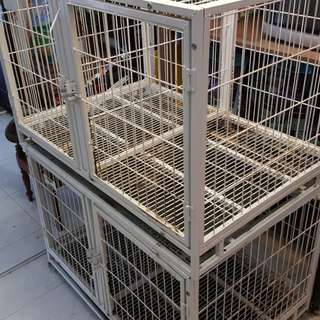 Two metal cages for sale