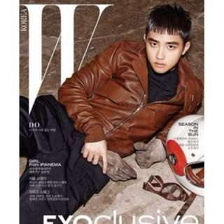 ON HAND MAGAZINE W Korea Magazine - EXO D.O