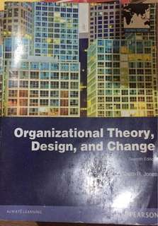 Organizational design and change (fotokopi)