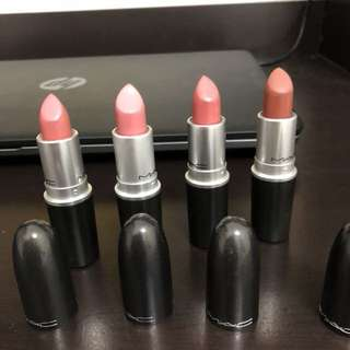 MAC Authentic Lipsticks