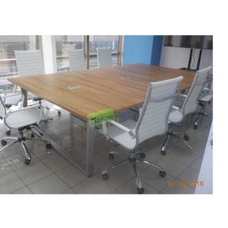 Conference Table - chairs - office furniture - partition