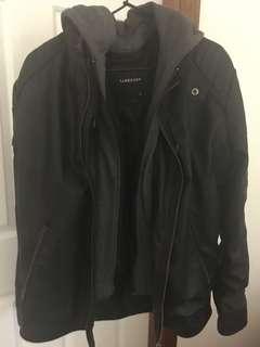 Men's PU leather jacket