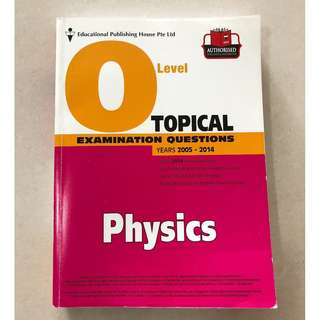 Physics O Level Topical Examination Questions