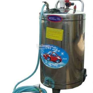 Stainless Steel Snow Wash Tank for Car Wash