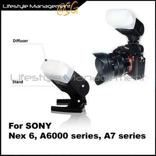 SONY Camera MEKE TTL Speedlite Mi Flash DSLR Mirrorless Nex 6/A6000/A6300/A7/A7R/A7II/A7RII/A7S/A7SII