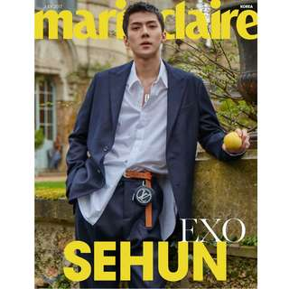 ON HAND EXO Sehun - Marie Claire Magazine