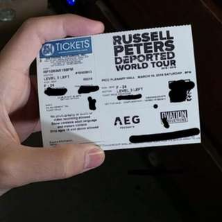 Russel Peters Deported World Tour Manila