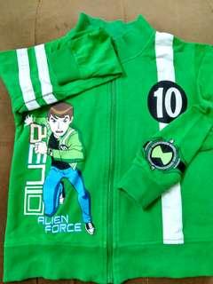 Ben 10 Jacket (6-7thn) | VGC
