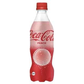 日本 世界第一支 桃味可樂