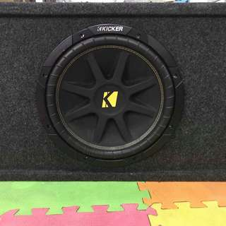 Kicker Sub with box