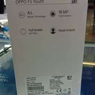 Cicilan Oppo F5 Youth