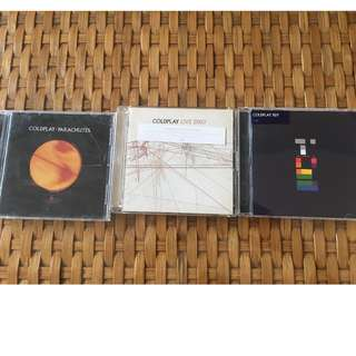 Coldplay - 3 albums
