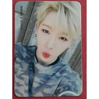 ON HAND OFFICIAL PHOTOCARD MONSTER X WONHO LOST