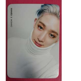 ON HAND OFFICIAL PHOTOCARD MONSTER X WONHO GUILTY
