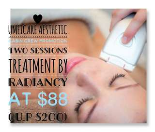 Face Treatment By Radiancy