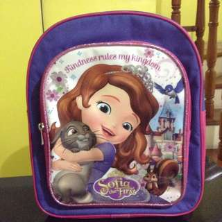 Sophia the First Backpack