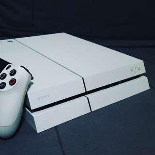 PS4 500GB White