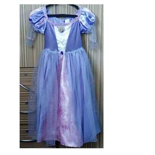Disney Princess Rapunzel Costume Small used 2x only