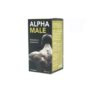 Alpha Male, Testosterone Supplement, 60 capsules