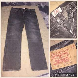 Levi's Jeans 501 ButtonFly - 2 pair for $120
