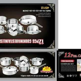 12 pcs. Stainless
