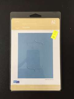 Quickutz Brackets Embossing Folder