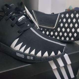Adidas NMD R1 Neighborhood Core Black for SALE!