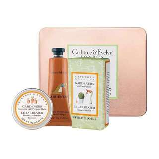Crabtree & Evelyn Soothing Gardening Treats Gift Set