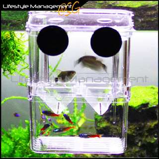 Aquatic Fish Tank/Aquarium Breeding Isolation Separation/Separator Isolate/Divider Box/Tank