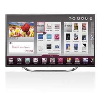 LG 42 inch CINEMA Smart TV LA623T