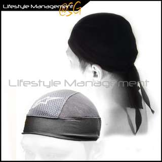 Motorcycle/Bicycle Helmet Sweat Absorbent Breathable Mesh Skull Cap Fast Drying Wicking Bike Helmets Liner Head Scarf