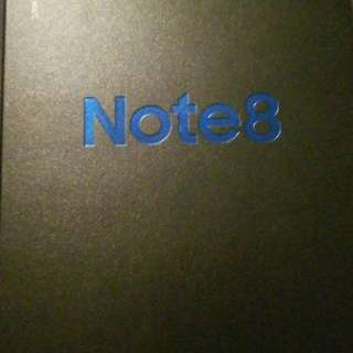Samsung galaxy note 8 midnight black 64gb