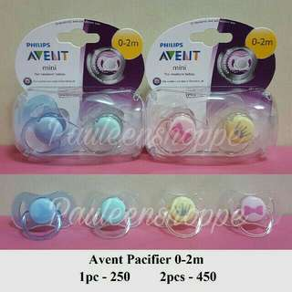 Avent Pacifier 0-2 Mos