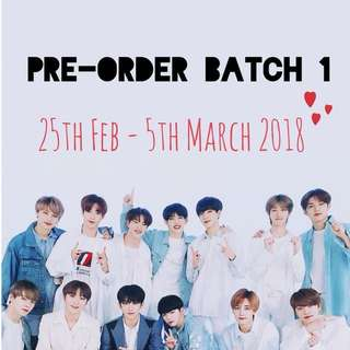 [CLOSED] PRE-ORDER BATCH 1