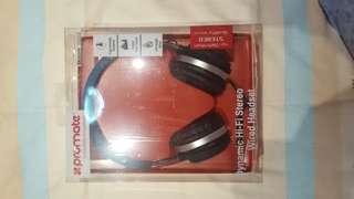 Promate Dynamic Hi-Fi Stereo Wired Headset