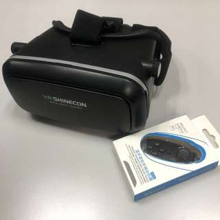VR Shinecon 眼鏡 & 遙控