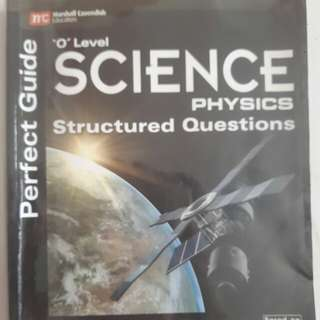 Perfect Guide O level Physics Structured Questions