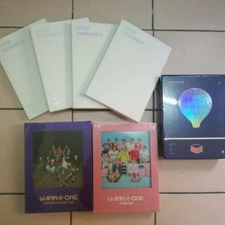 READY STOCK ALBUMS