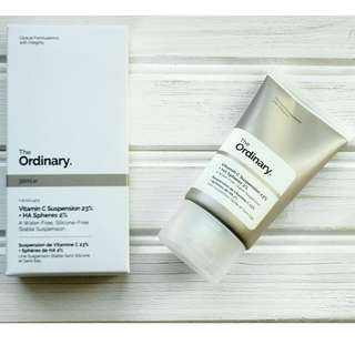 THE ORDINARY VITAMIN C SUSPENSION 23% + AHA SPHERES 2% 30ml