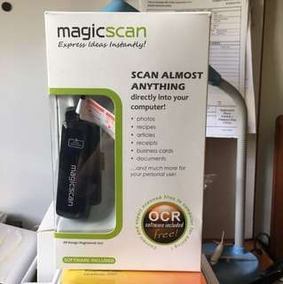 Portable Scanner Magic Scan (namecard only)