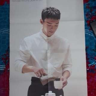 WTT chen poster to baekhyun poster