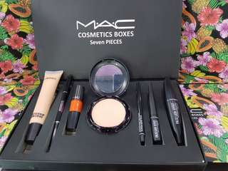 Mac Cosmetics 7 pieces Make Up Set in a box