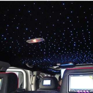 CAR CEILING LIGHTS - FIBER OPTICS ROOF LIGHT
