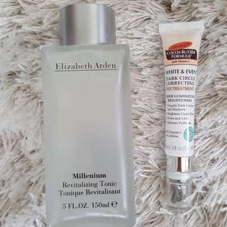 ElizabethArden Toner & Palmer's CBF Eye Treatment