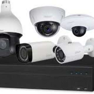 4 channel CCTV camera 1MP with installation