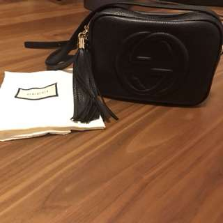 Gucci bag 99%new